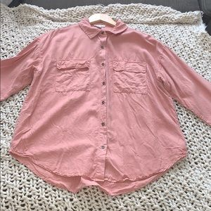 Light pink Forever 21 button down